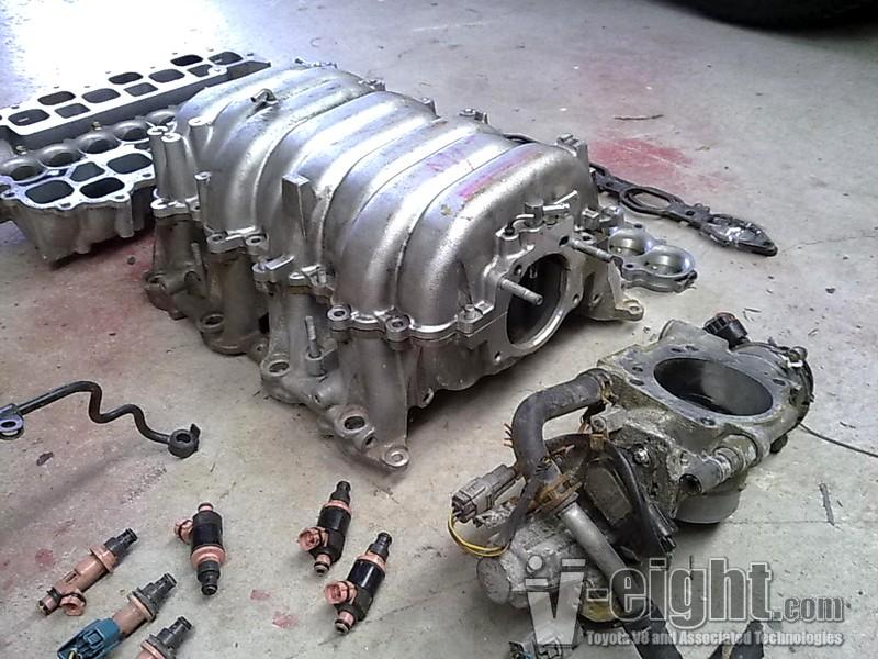 V8 Intake Manifold : Toyota v intake manifolds